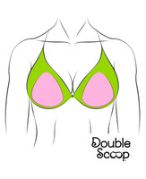 Bra insert shapers. nipple coverage for bikinis, tankinis, cruisewear and cover-ups. Pool side fashion, smoothers.  A cup, B/C cup. Divine for Large Cup sizes for D, DD, E, F, G. plus and full figued support