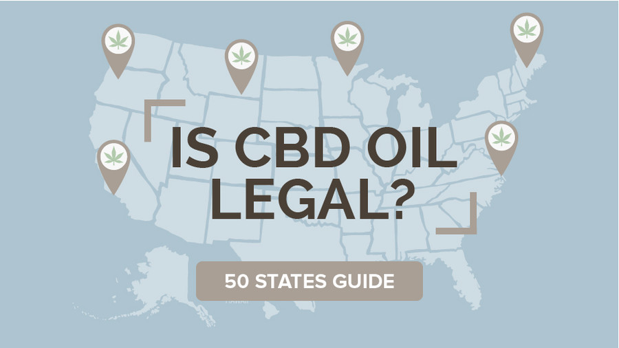Is CBD Oil Legal in all 50 states? - Hempure