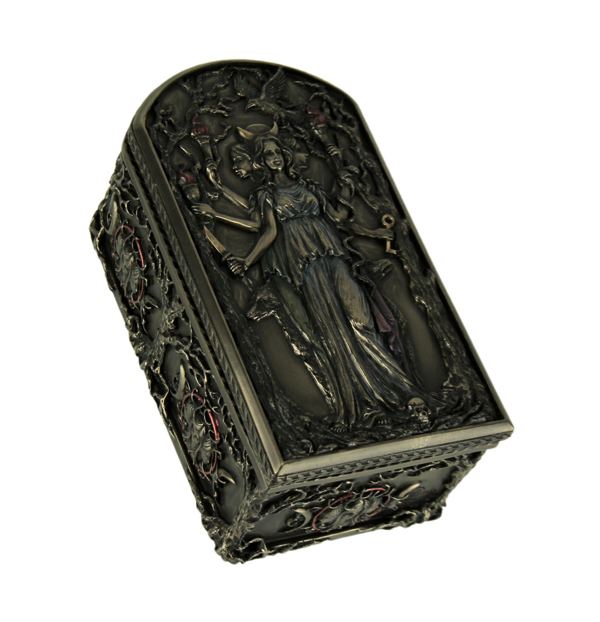 Hecate Triple Goddess Decorative Trinket Box