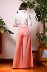 Comma Pants (Wide Leg Wool Pants)