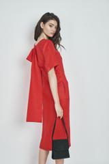 Mary Dress (Linen Blend Midi Tunic Dress)