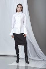 On-the-Edge Shirt (White Poplin Shirt)