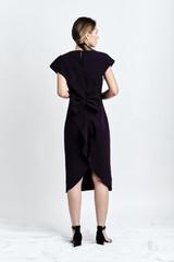 SUSUR Dress (Blackberry Dress with Structural Back)
