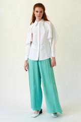 PHOENIX White Poplin Shirt