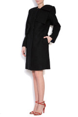 Pan Coat (Black Coat with Bows)