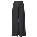 SKYLINE Wide-leg Black Trousers