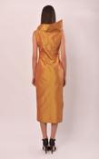 Helen Dress (Silk Taffeta Tube Dress)