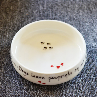 Pottery Mountain - Dogs leave pawprints on our hearts.