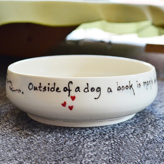 Outside of a dog a book is a man's best friend. Inside of a dog it's too dark to read. Groucho Marx