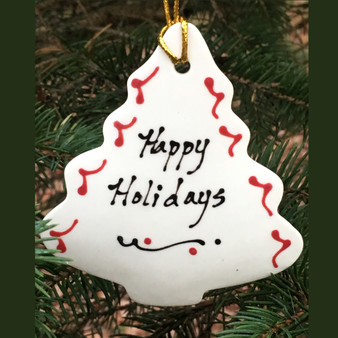 Happy Holidays Tree Ornament