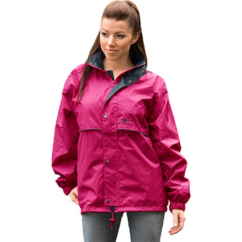 Stolite original rain jacket ruby woman