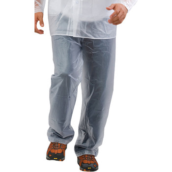 Reusable clear waterproof pants