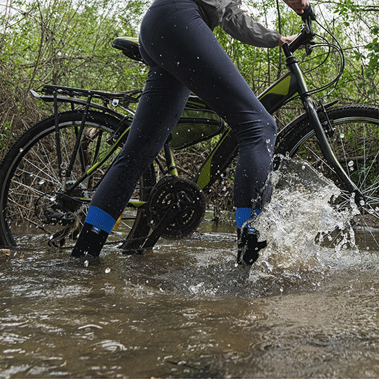 Waterproof socks cycling