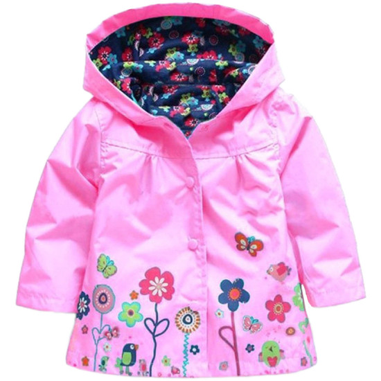 Children's Flower Raincoat