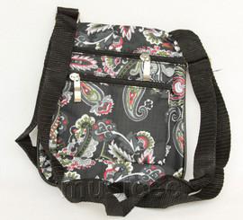 stylish black zipper handbag bag Shoulder bag purses T816A10E5