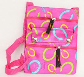 stylish pink red zipper handbag bag Shoulder bag purses T812A10E5