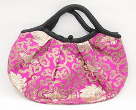 popular 37X30cm pink-red silk handbag bag purses T657A28E11