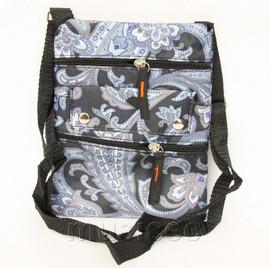 vogue black blue zipper handbag bag Shoulder bag purses T607A10E5