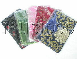 wholesale 5pcs Mixed colors Jewelry silk bags handbag pouches T118A08