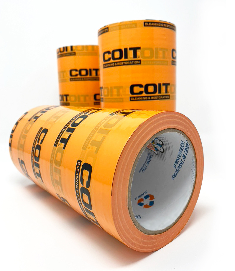 Coit branded adhesive tape