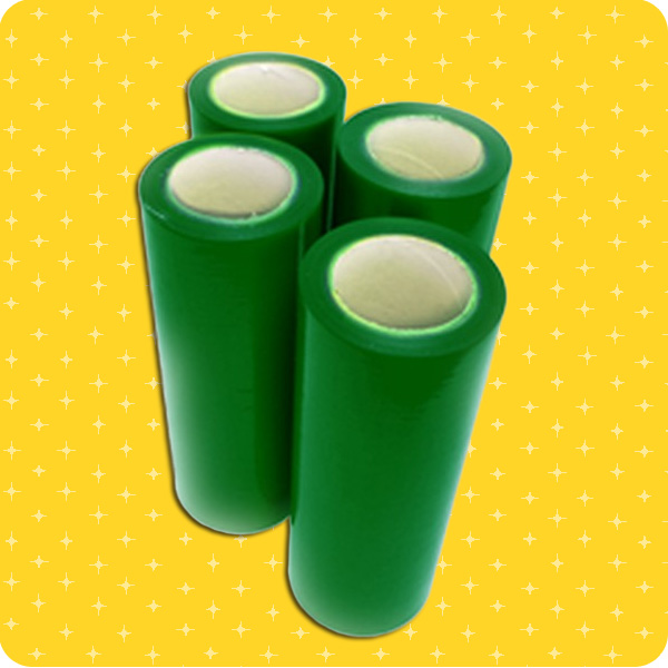 Our light tack - green colored tape