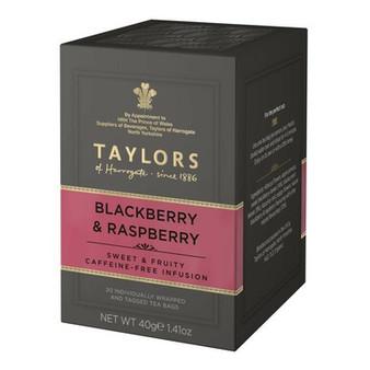Taylors of Harrogate Blackberry & Raspberry Tea 20 bags