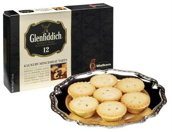 Walkers Glenfiddich 6 Mince Pies