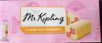 Mr Kipling Mini Battenberg Cakes