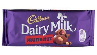 Dairy Milk Fruit & Nut Large Sharing Bar