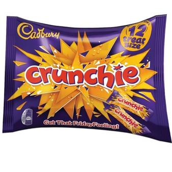 Cadbury Crunchie 12 Treat Sized Bars