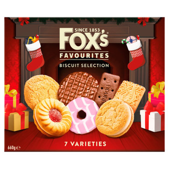 Biscuit Fox's Fabulously 550g Biscuits