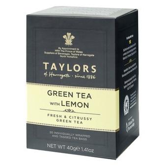 Taylors of Harrogate Green Tea with Lemon