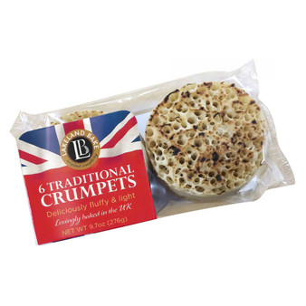 Traditional crumpets 6 pkt