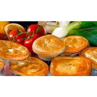 Pouch Pies, Chicken and mushroom.