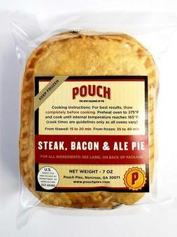 Pouch Pie, Steak Bacon and Ale pie