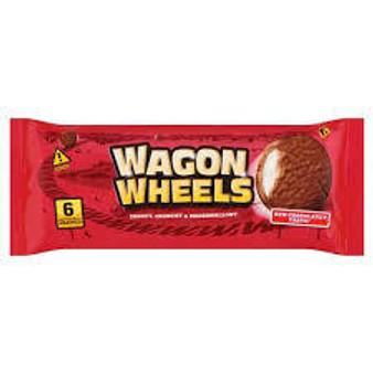 Wagon Wheels 6 pkt