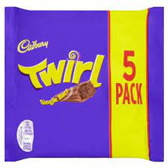 Cadbury Twirl Multipack 5 bars