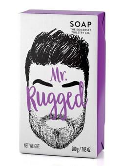 Mr Rugged Bar Soap