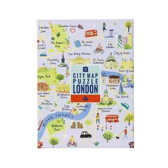 City Map Puzzle London. 250 piece