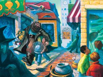 Harry Potter Diagon Alley 500 Piece puzzle.