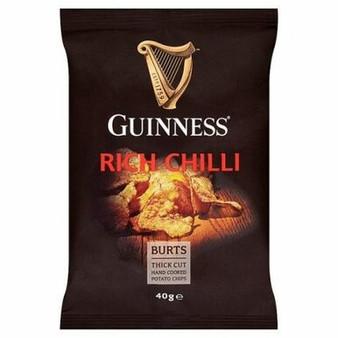 Guinness Rich Chilli crisps