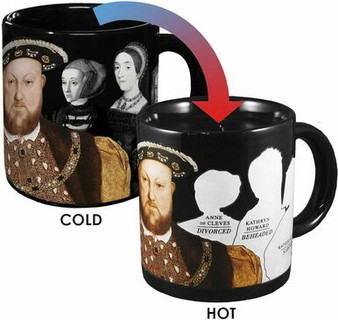 Henry VIII and Disappearing Wives Mug.