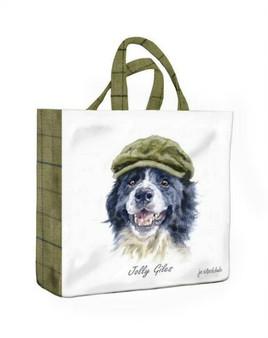 Luxury Pvc Medium Gusset Reusable bag Jolly Giles