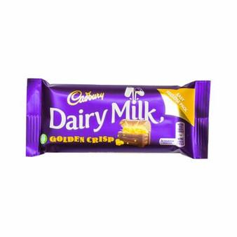 Dairy Milk Golden Crisp Chocolate bar