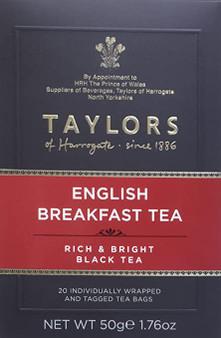 Taylors English Breakfast Tea 20 bags