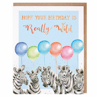 Card, Hope Your Birthday Is Really Wild