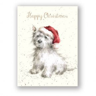 Gifts, Wrendale Christmas cards 8 pkt, Dog