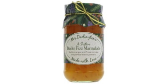 Preserves, Mrs Darlington's Bucks Fizz Marmalade