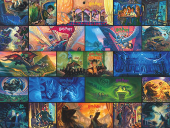 Gift, Harry Potter Collage 1000 Piece puzzle.