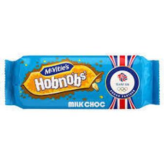Hobnobs' Milk Chocolate biscuits